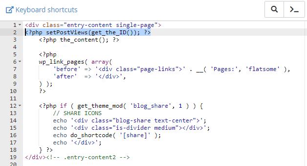 B 2.1: thêm code hiển thị lượt xem trong trang